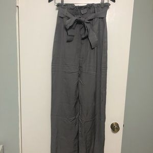 J. Crew Tall Point Sur Gray Pants